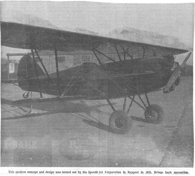 Speedbird  circa 1935