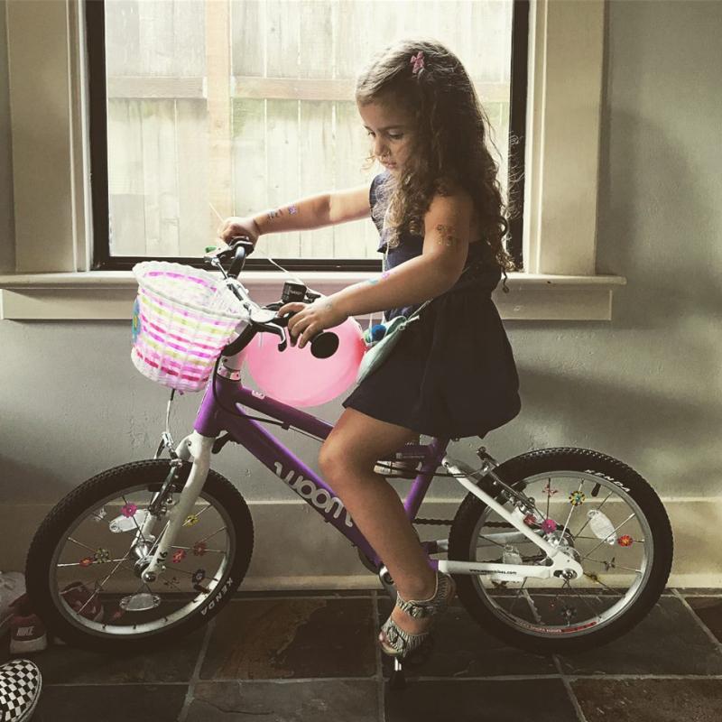 R's new bike 1