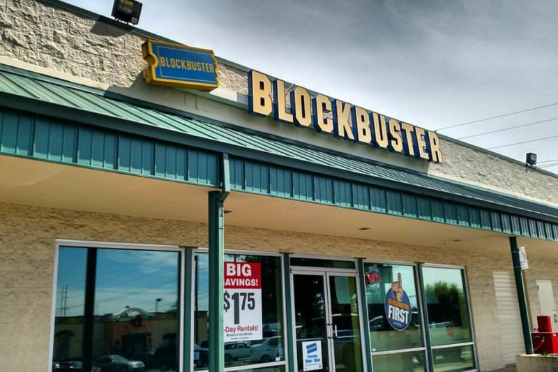 One of the last Blockbusters