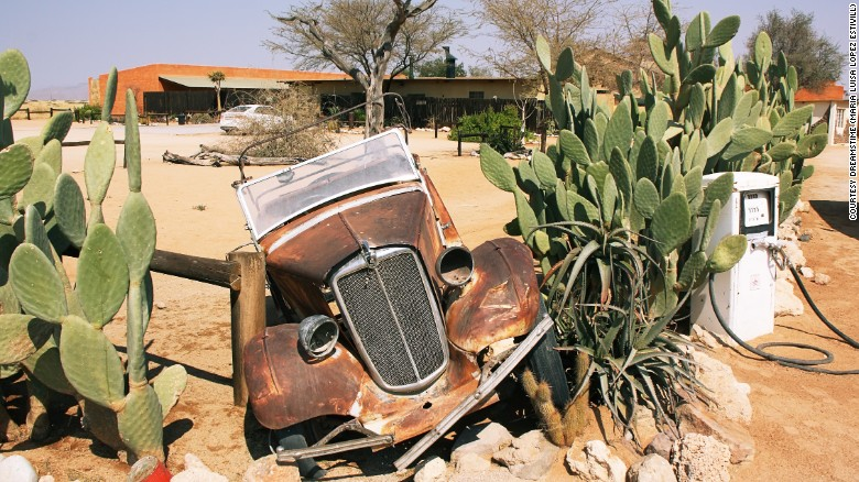 Old truck in Namibia