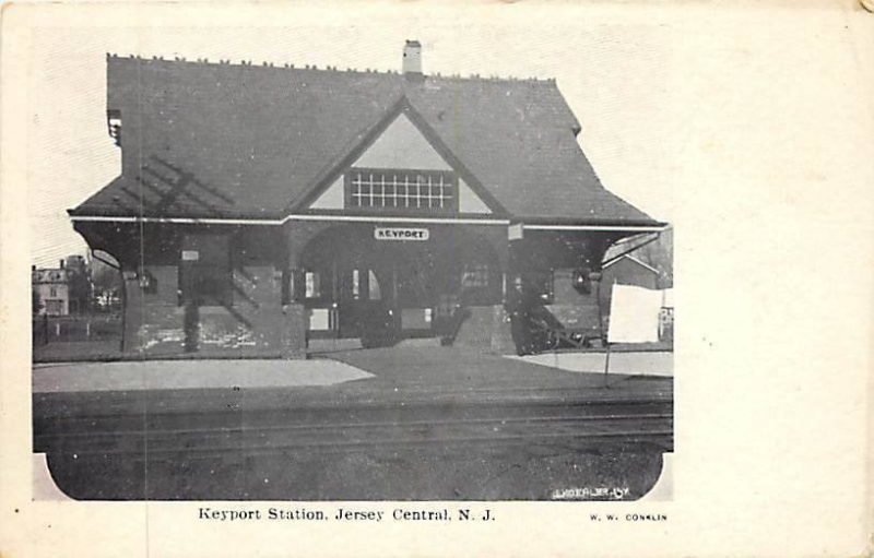 Keyport train station