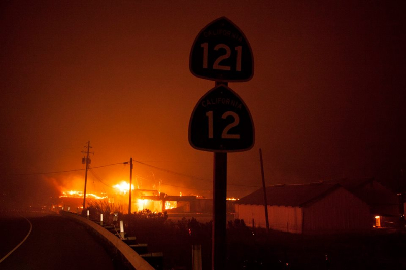 Northern California wildfires 2