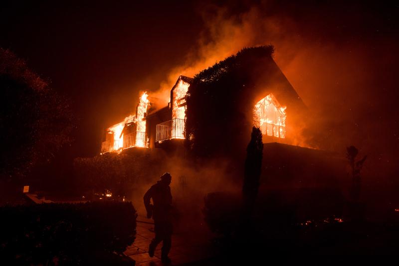 North Bay fire 1