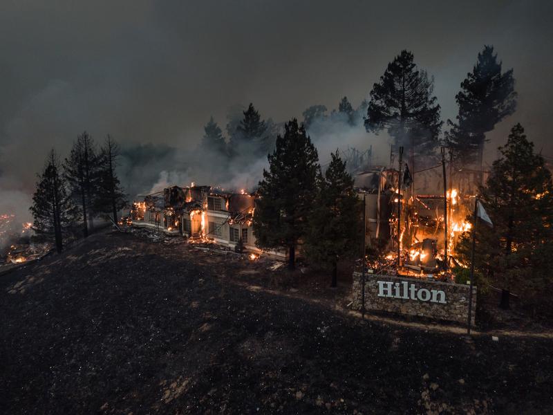 North Bay fire 8