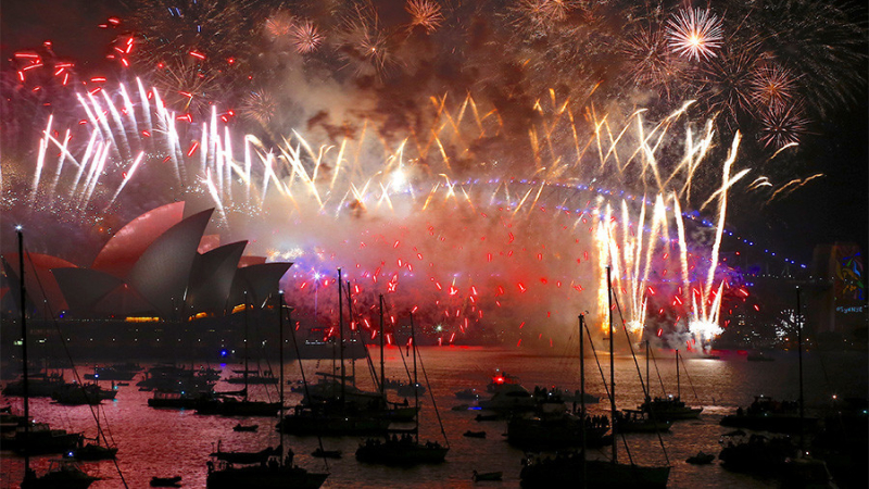 New Year's in Australia