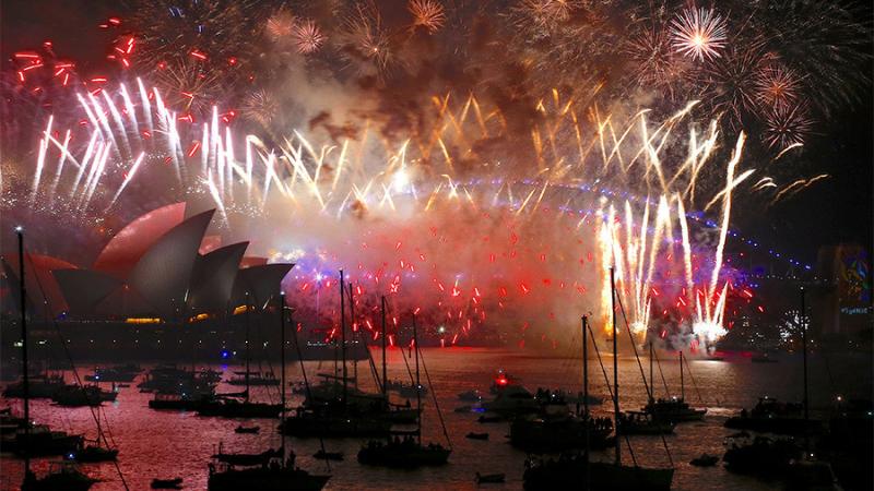 New Year's in Australia
