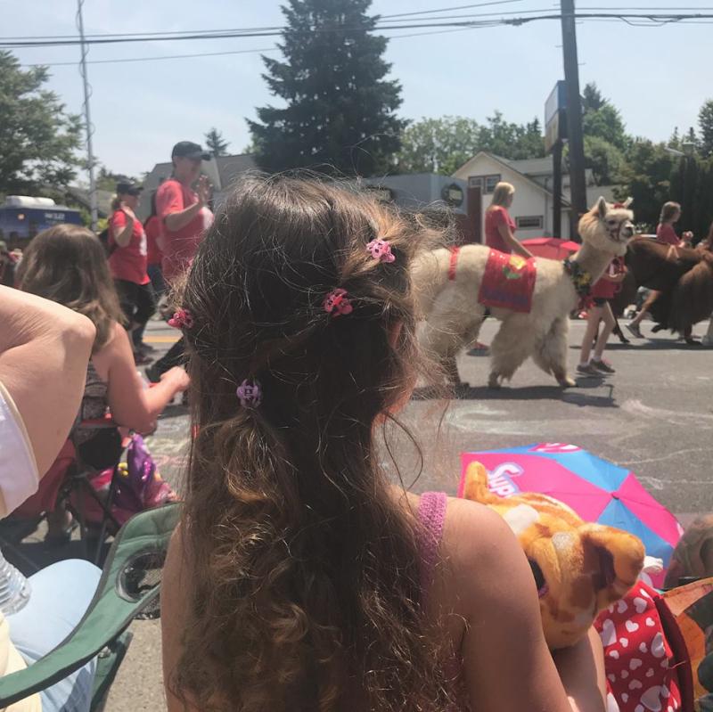 Rose City kids parade